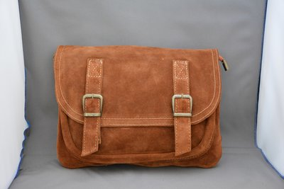 Tower Leather Bag Flapover tas